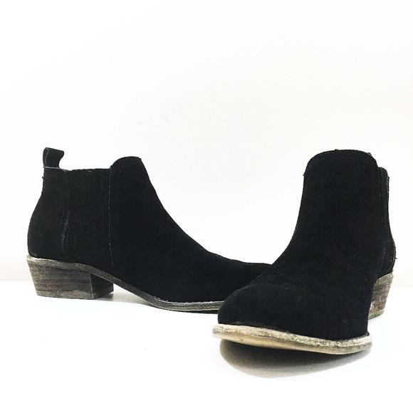 6f0020ff814 Steve Madden Tallie Suede Ankle Boots | Black